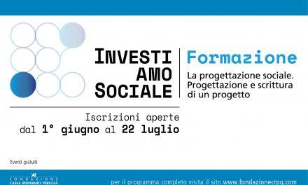 InvestiAMOsociale: come progettare e scrivere un progetto sociale